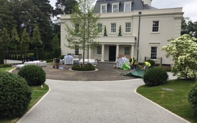 Weybridge St Georges Hill Resin Bound Gravel Driveway