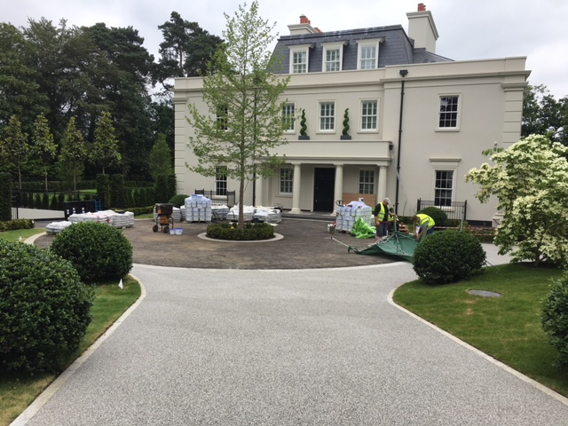 Weybridge Resin Bound Gravel Project