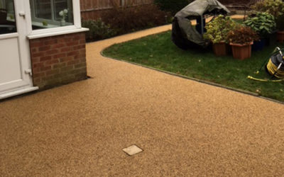Resin Bound Patio Project