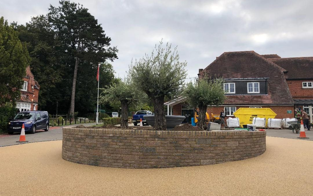 Danes hill school Oxshott Surrey Resin Bound