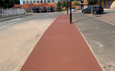 Danes Hill School Oxshott Resin Bound Pathway