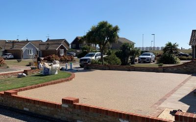 Worthing Resin Bound Gravel Project