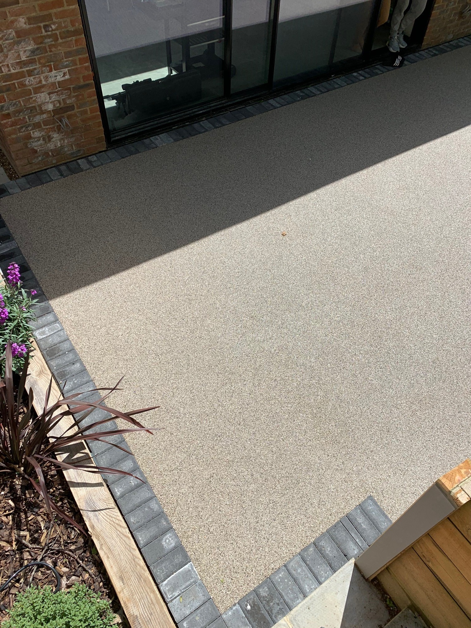 Brands hatch Resin Bound Patio Project